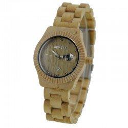 Деревянные часы Bewell ZS-W064A maple wood