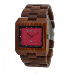 Деревянные часы Bewell ZS-W016B