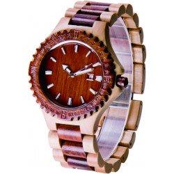 Деревянные часы Bewell ZS-W023A