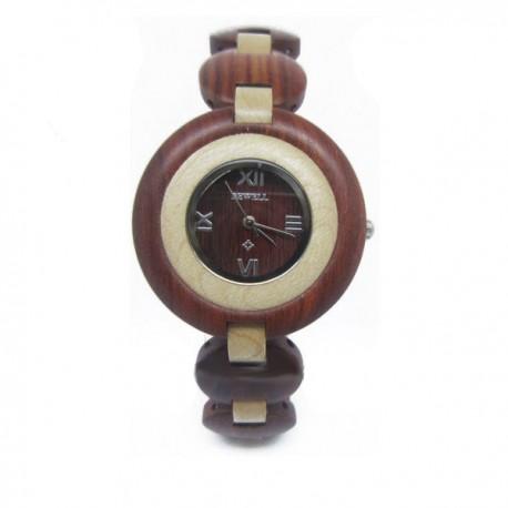 Деревянные часы Bewell ZS-W010A