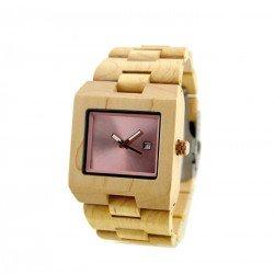 Деревянные часы Bewell ZS-W016D