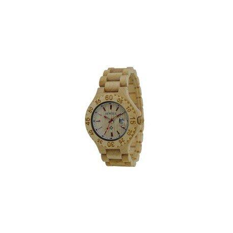 Деревянные часы Bewell ZS-W101BL
