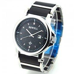 Деревянные часы Bewell ZS-1048