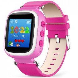 Детские часы с GPS Baby Watch Q60 S с цветным экраном (розовые)