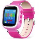 Детские часы с GPS Baby Watch Q60 S (GW400) с цветным экраном (розовые)