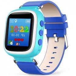 Детские часы с GPS Baby Watch Q60 S (GW400) с цветным экраном (голубые)