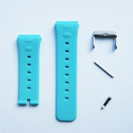Ремешок для детских GPS часов Q50 (голубой)