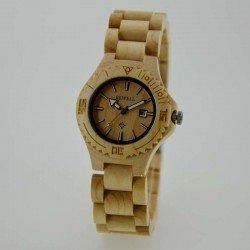 Деревянные часы Bewell ZS-W020A lady (maple)