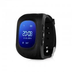 Детские часы с GPS Baby Watch Q50 OLED (черные)