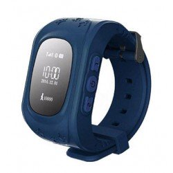 Детские часы с GPS Baby Watch Q50 OLED (синие)