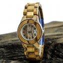 Деревянные часы Bewell ZS-W100AG lady (zebra)