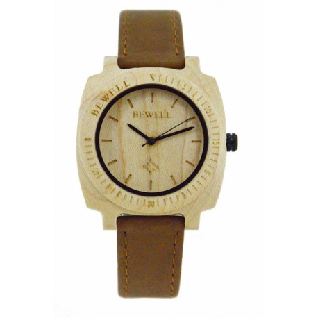 Деревянные часы Bewell ZS-W098B (maple)