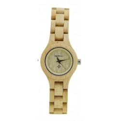 Деревянные часы Bewell ZS-W123A (maple)