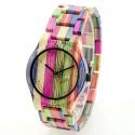 Деревянные часы Bewell ZS-W105DL-1 lady (mix colors)