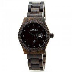 Деревянные часы Bewell W-ZS064 lady (black sandal)