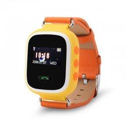 Детские часы с GPS Baby Watch GW900S orange с цветным экраном (оранжевые)