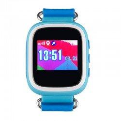 Детские часы с GPS Baby Watch GW100S с цветным экраном водонепроницаемые (голубые)