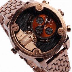 Наручные часы Oulm с двумя циферблатами HT3130-11