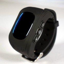 Детские часы с GPS Baby Watch Q50 (черные)