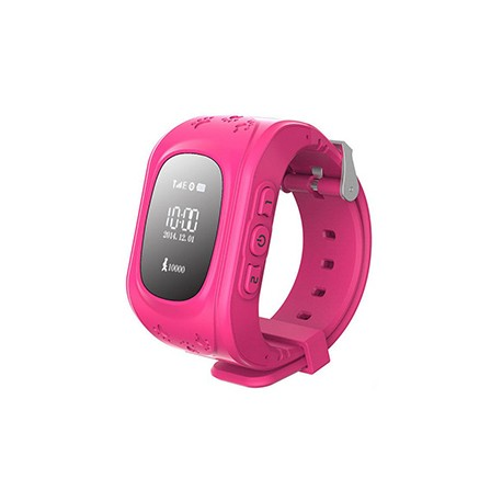Детские часы с GPS Baby Watch Q50 (розовые)