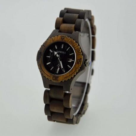 Деревянные часы Bewell ZS-W020A lady (black sandal)