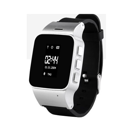 Часы с GPS Smart Watch EW100silver (серебристые)