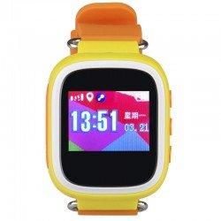 Детские часы с GPS Baby Watch GW100S с цветным экраном водонепроницаемые(оранжевые)