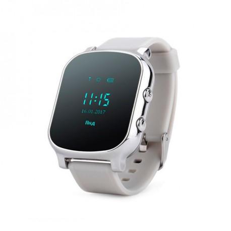 Подростковые умные часы Smart GPS Watch T58 (GW700) серебро