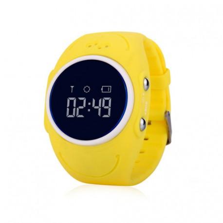Детские часы с GPS трекером Baby Smart Watch GW300S Желтые