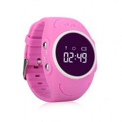 Водонепроницаемые детские часы с GPS трекером Baby Smart Watch GW300S Розовые