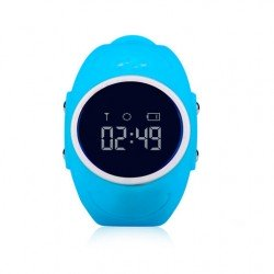 Водонепроницаемые детские часы с GPS трекером Baby Smart Watch GW300S Голубые