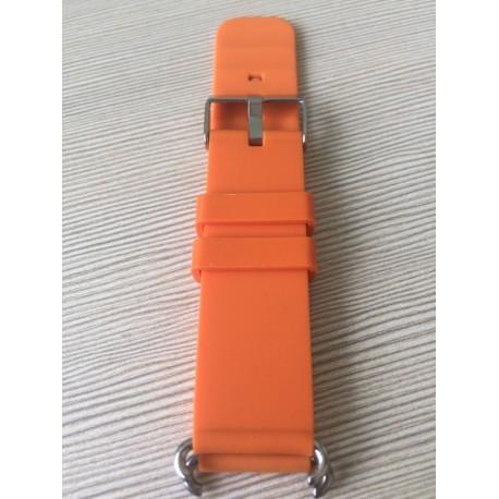 Ремешок для детских часов GPS Q90 (оранжевый)