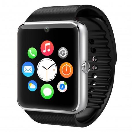 Смарт часы Smart Watch GT08 серебристо-черные