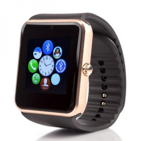Смарт часы Smart Watch GT08 розовое золото черные