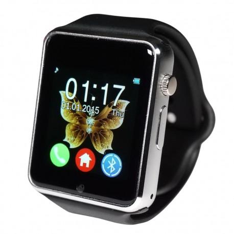 Смарт часы Smart Watch GT08 темно-серебристо-черные