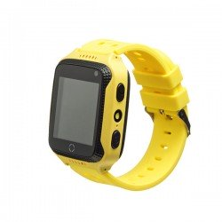 Детские часы с GPS Smart Baby Watch GW500S Желтые