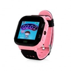 Детские часы с GPS Smart Baby Watch GW500S Розовые