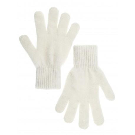 Перчатки женские однотонные (Белые однотонные)
