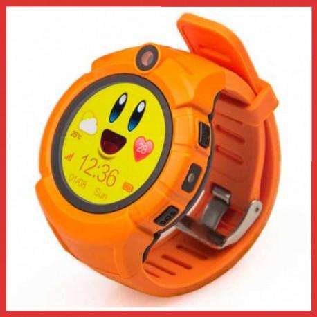 Детские GPS часы Smart Baby Watch GW600 orange (оранжевые)