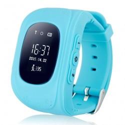 Детские часы с GPS Baby Watch Q50 OLED (голубые)