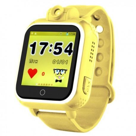 Детские часы с GPS Wonlex Smart Baby Watch GW1000 (оранжевые)