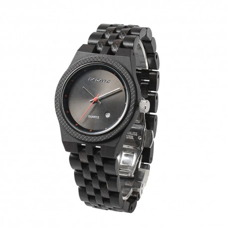 Деревянные часы Bewell ZS-142A (Ebony case)