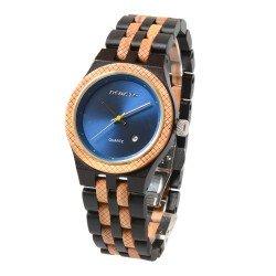 Деревянные часы Bewell ZS-142A (Ebony olive)