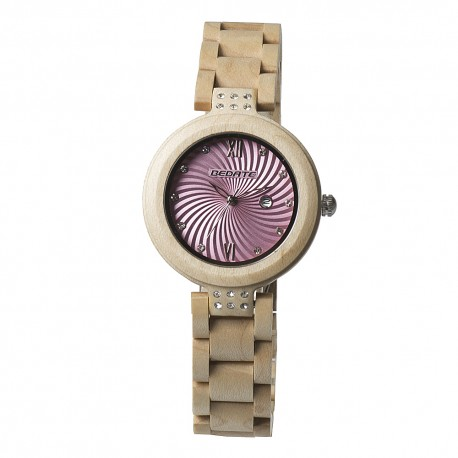 Деревянные часы Bewell ZS-149A (Maple)