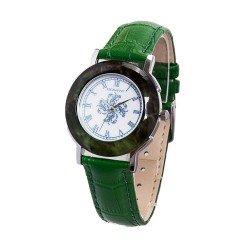 Деревянные часы Bewell ZS-1064A (green)
