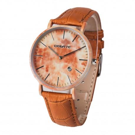 Деревянные часы Bewell 1059AG (brown)