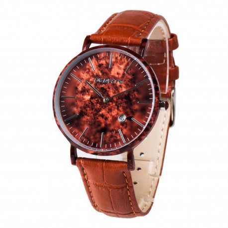 Деревянные часы Bewell 1059AG (brown1)