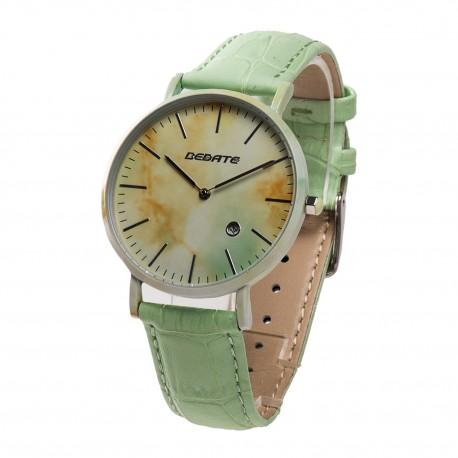 Деревянные часы Bewell 1059AG (green)
