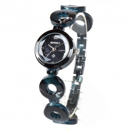Деревянные часы Bewell ZS-W75A