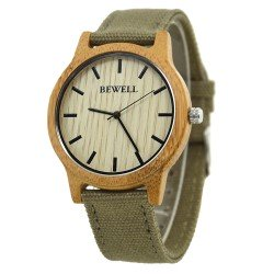 Деревянные часы Bewell ZS-W134A (bamboo)